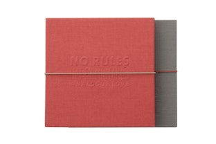 Album Photo Lomorello DIY Square - Rouge