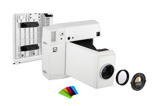 Lomo'Instant Square Camera Combo (White Edition)