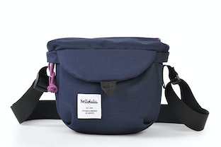 Hellolulu Dean: Compact Cameratas - Donkerblauw