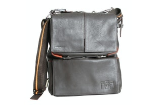 Sidekick Leather Bag - Bruin