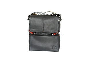 Sidekick Leather Bag - Zwart