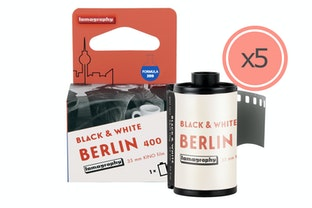 Berlin Kino B&W 35 mm ISO 400 2019 Edition 5本セット