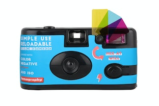 Simple Use Reloadable Film Kamera Color Negative 400