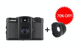 ชุดกล้อง Lomo LC-A+ & Wide Angle Lens Bundle