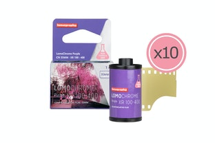 Nueva LomoChrome Purple 35mm Pack de 10