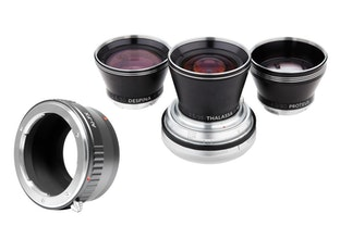 Neptune Convertible Art Lens System - Nikon F Mount with FUJI X Adapter