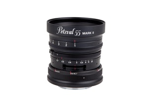 New Petzval 55 mm f/1.7 MKII Black Aluminium(アルミニウムブラック)