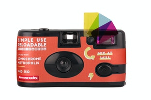 Simple Use Reusable Film Camera LomoChrome Metropolis