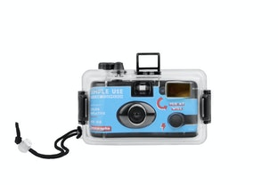 Analogue Aqua - Simple Use Reloadable Camera & Underwater Case - Color Negative 400